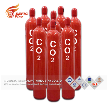 Professional Manufacturer Supplier Co2 Fire Fighting Gas Cylinder For Fire System