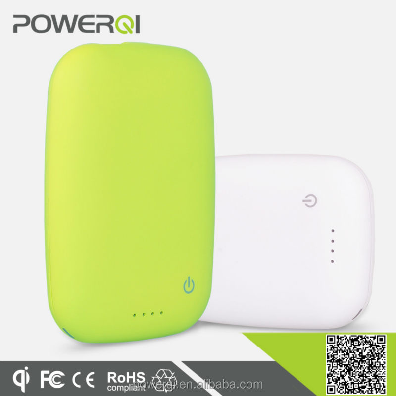 Powerqi T400 Wireless Charging Mat,Mini Rechargeable Battery Charger 4000mA