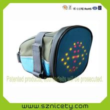 Security Flashing Go Led Backpack For Cyclist Runner Climber Jogger