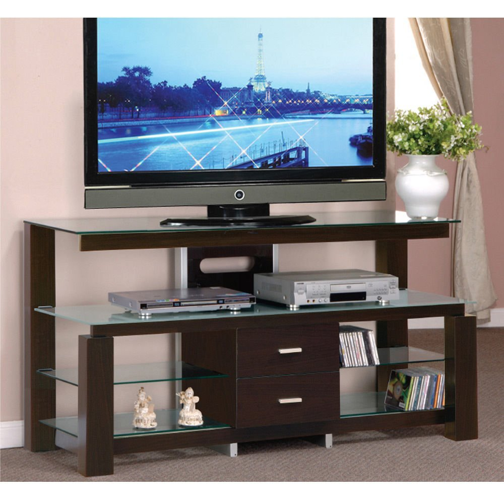 1perfectchoice Tv Stand Entertainment Center Console Table Dining Buffet Server Cabinet Gl