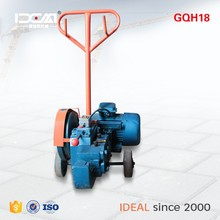 GQH18 small type 6-18mm round bar motor automatic 160 tons scrap steel bar cutting machine