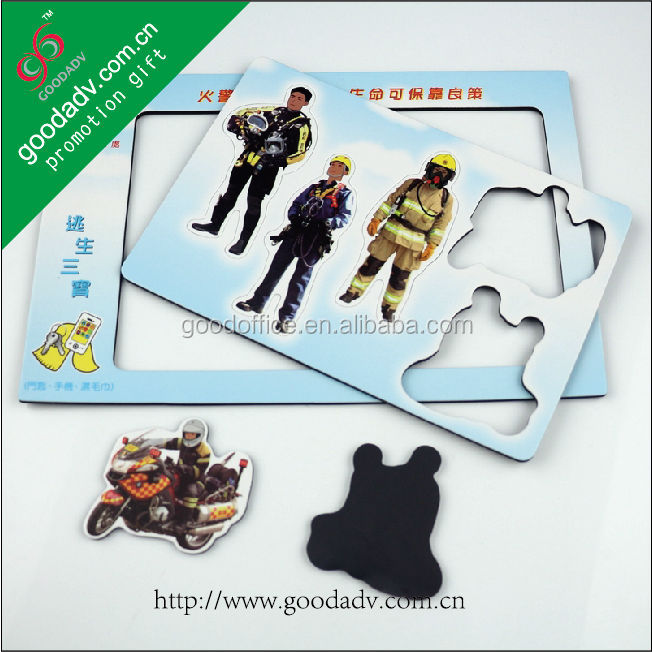 Guangzhou OEM factory educational fire safety magnetic photo frames