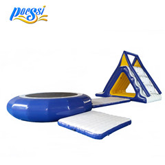 Colorful Adults High Jump Launcher Inflatable Water Blob for Sale