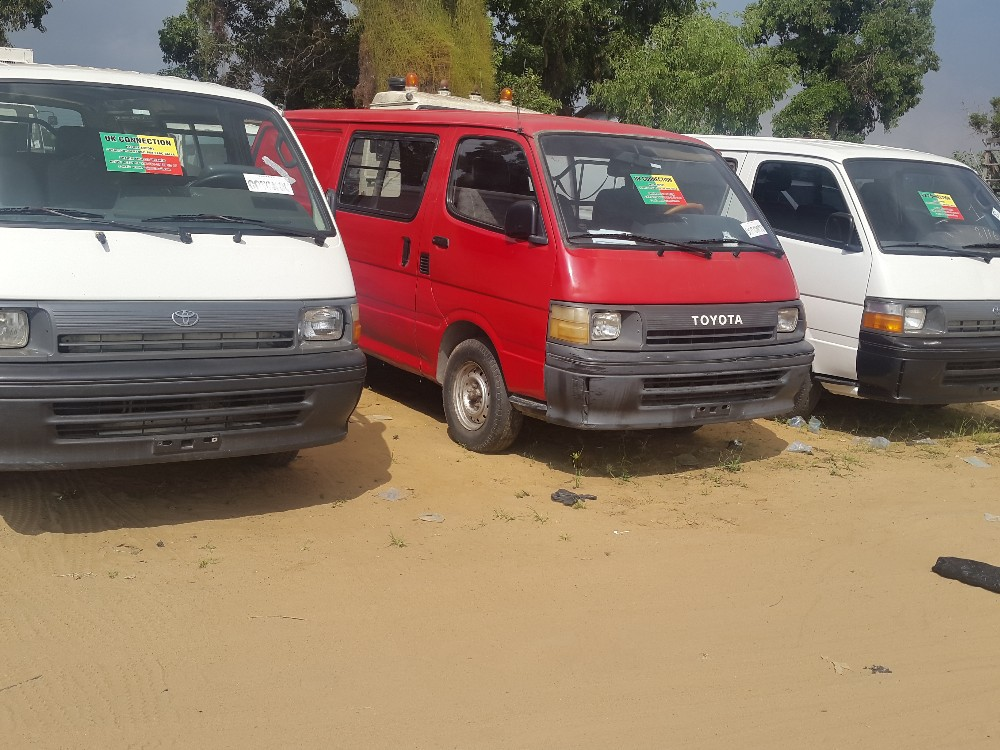 TOYOTA HIACE USED for SALE in BENIN
