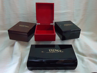 lacquered , jewelry box, necklaces Piano gloss wooden gift boxes