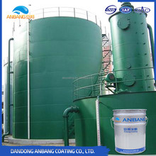 Anti scratch coating for storage steel structure containers and large machinery