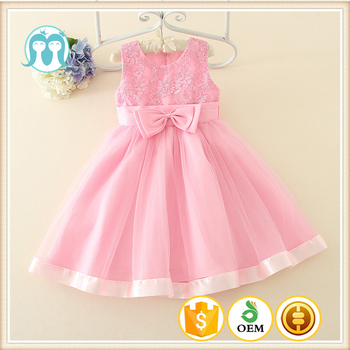 Children Clothing Manufacturers China Pink Angel Princess Dress Baby Girl  Wedding Dresses - Buy Baby Girl Birthday Dresses,Pale Pink Wedding