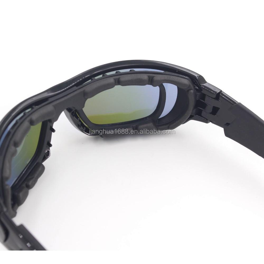 Sports frames for eyeglasses - Premium Bifocal Specialized Sport Sunglasses High Impact Sporty Eyeglasses Black Frame Color Lens For Military Police
