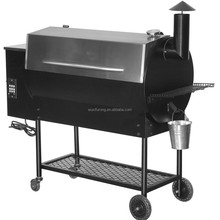 High quality electric wood pellet bbq grill outdoor pork roast machine