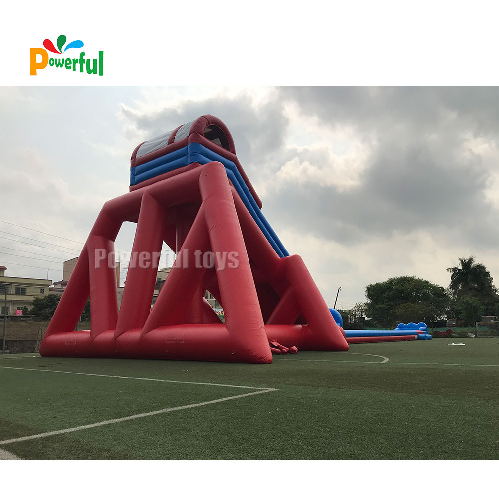 Factory Price Giant largest Inflatable hippo Water Slide Slip N Slide