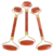 wholesale amazon hot selling Skin Care Red jasper jade face roller massager with private label