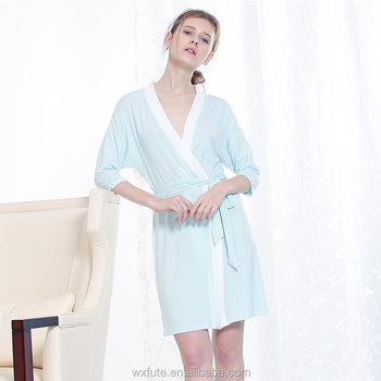 Women Sexy Dressing Gown Robes Women Bathrobes Satin Nightgown - Buy ... f8ba692987