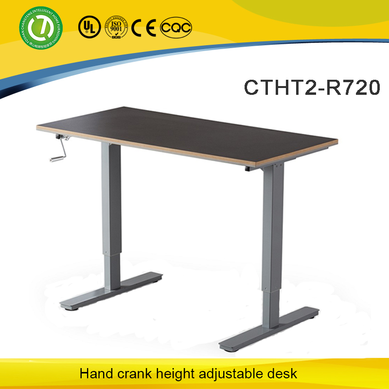 Computer desk Virginia automatic office table modern manual height adjustable desk