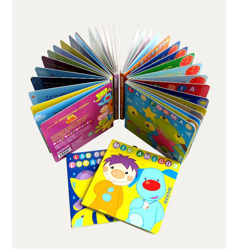 3D pop up children story books printing