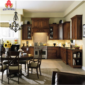 Bomei Custom High End Solid Wood Kitchen Cupboard Fiber Kitchen Cabinet  Modular Individual Pantry Cabinet - Buy Fiber Kitchen Cabinet,High End  Kitchen ...