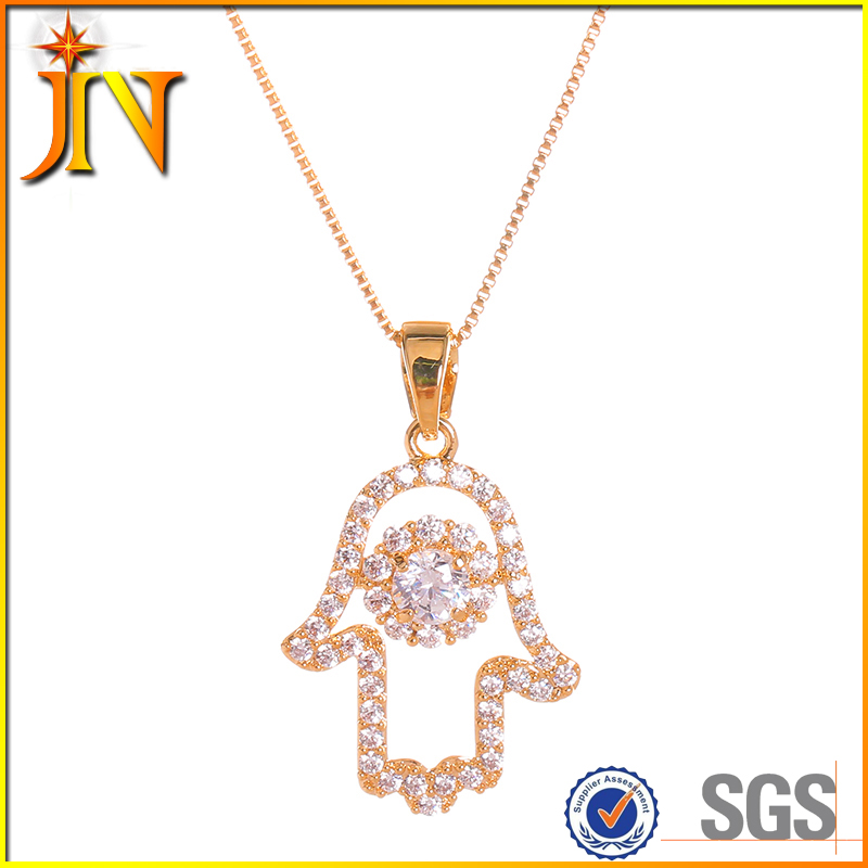 TN0150 JN wholesale fashionable Hamsa Hand of Fatima Prison Break T-BAG hands pendant necklace Jewelry