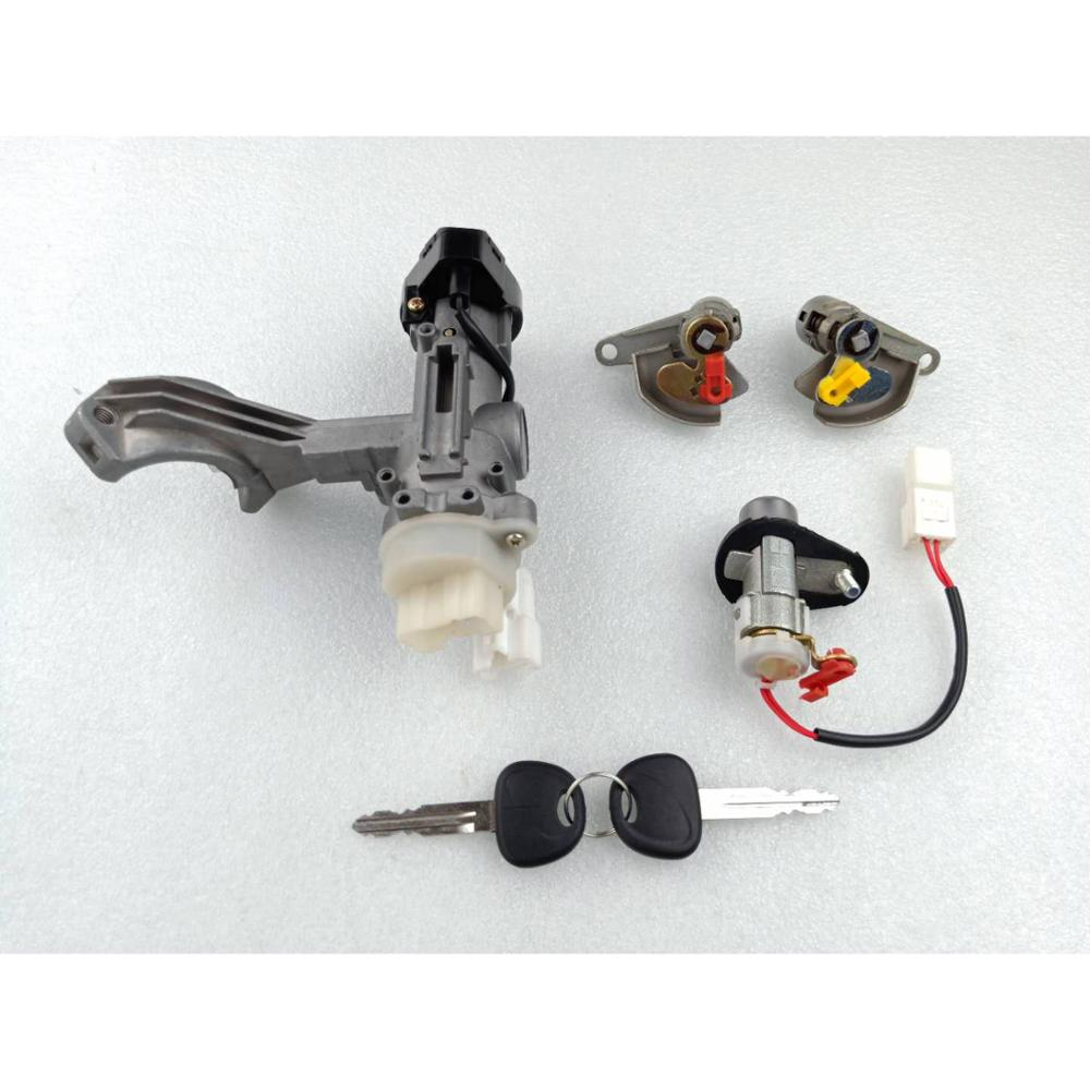 Auto Car Parts Ignition Starter Switch With Master Door Lock Key Set For Hyundai Elantra 81905-08070