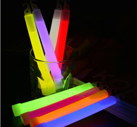 2019 Fashion Style Factory Best Seller Glow Stick Cheering Stick,Halloween Party Flashing 6 Inch Glowsticks