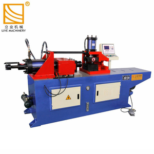 SG80NC hydraulic furniture taper tube pipe end metal forming machine