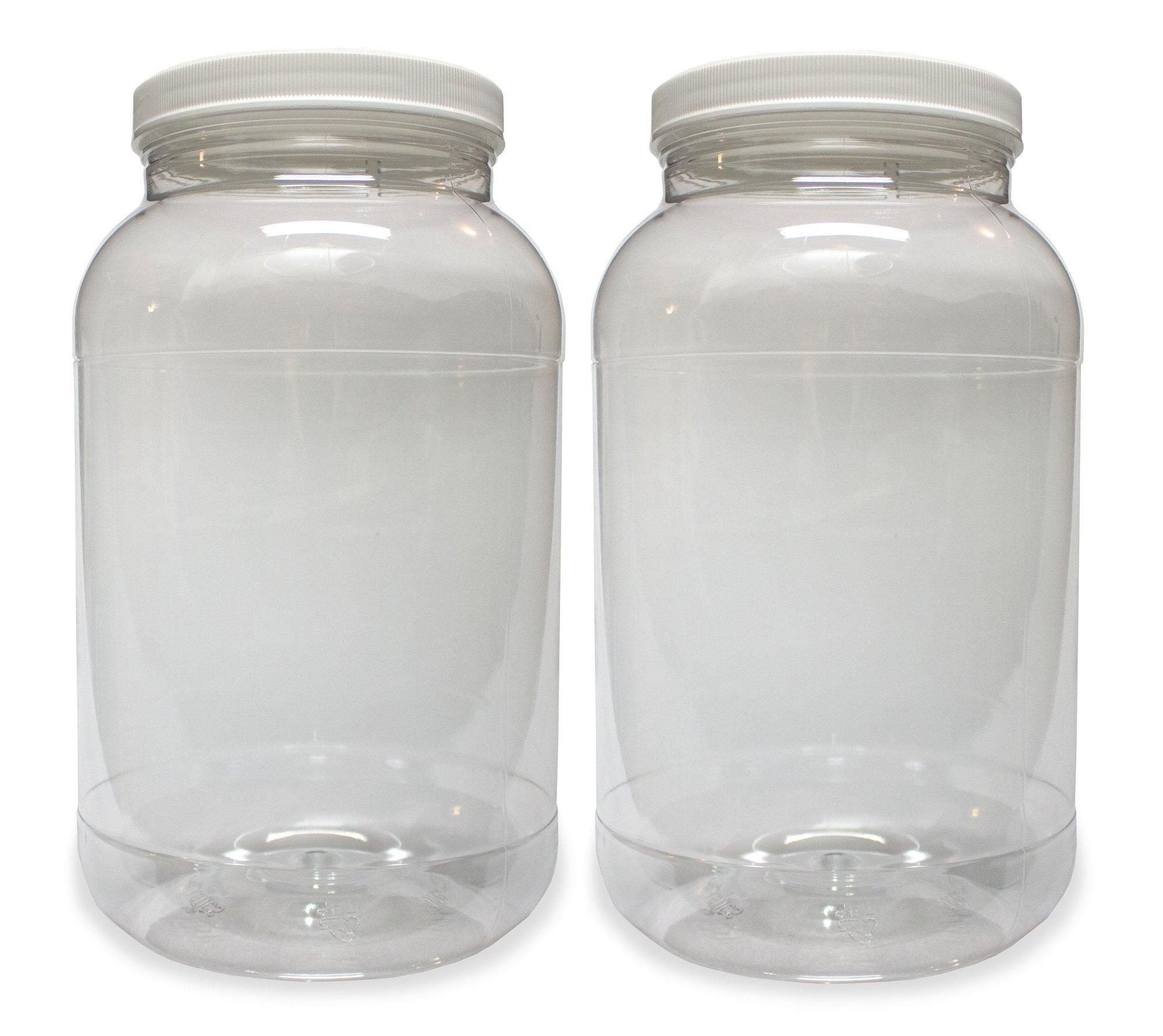 32abf40df0a Buy 1 Gallon Plastic Jar (2 Pack)
