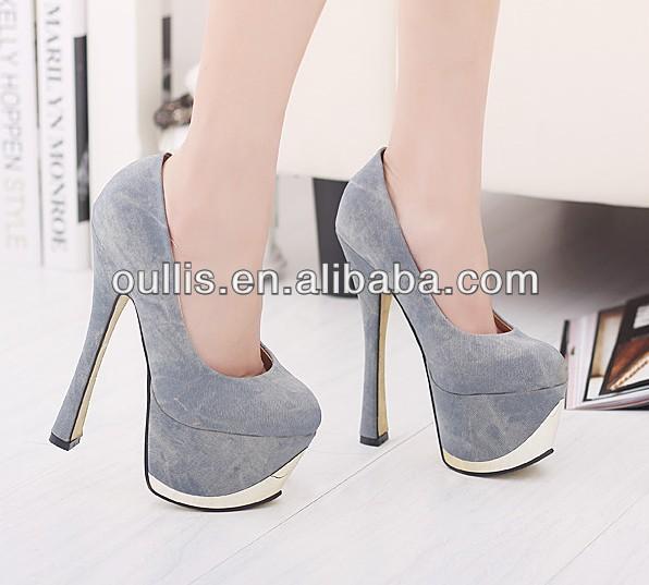 muy alto sexy tacones de plataforma de las niñas del club 2014 zapatos  zapatos oullis pms2799 88abff1dc5570
