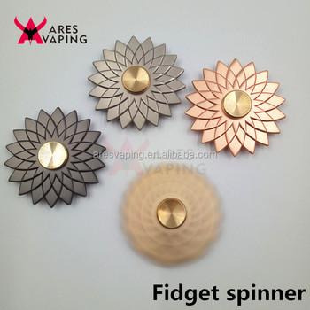 Lotus flower fidget spinner metal finger toys edc hand spinner for lotus flower fidget spinner metal finger toys edc hand spinner for stress reducer fidget spinner good mightylinksfo