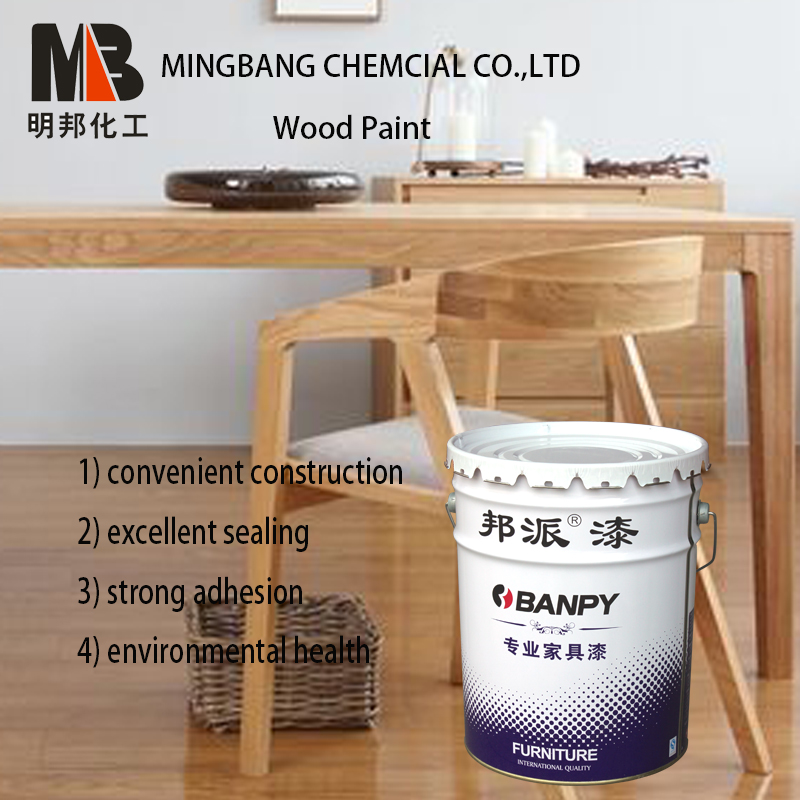 Scratch resistant wood top coat finish paint