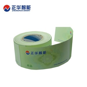 hot sale printable rfid ticket rfid paper ticket travel air ticket from China