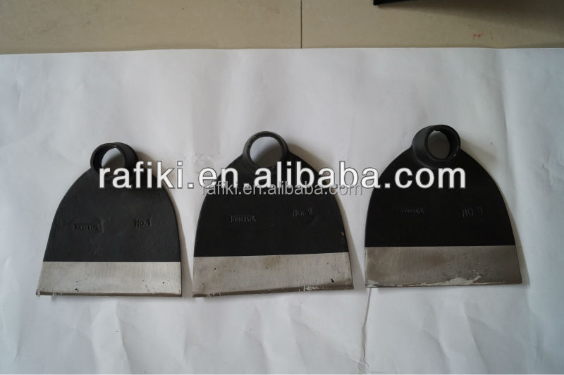 Gardening tools /forged rail steel hoe
