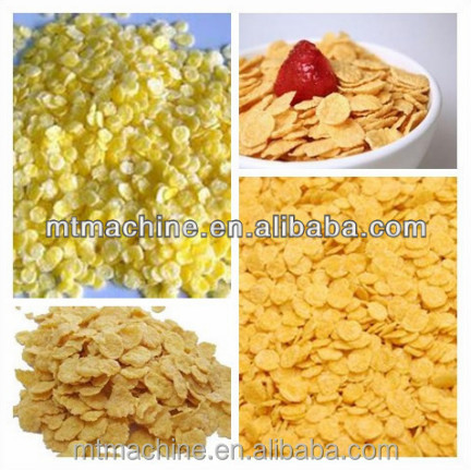 high quality Breakfast cereals corn flakes making machine