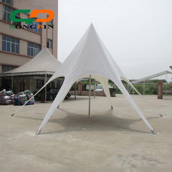 cheap 10m customized canopy star tent for garden shade & Cheap 10m Customized Canopy Star Tent For Garden Shade - Buy Star ...