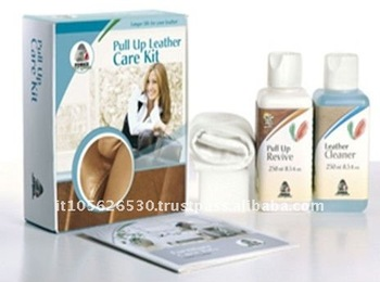 Italy Fenice Liquid Pull Up Leather Cleaner For Sofa Care Kit
