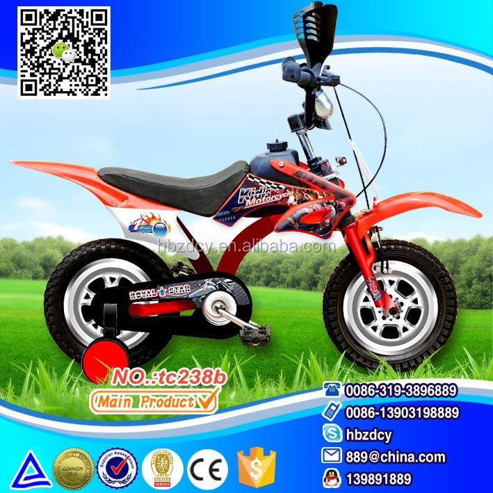 Motor Model Kids Bike Motor Bike For Children Riding Cycle - Buy ...