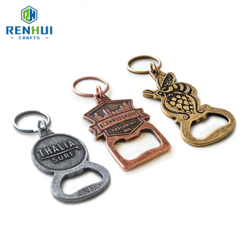 Hot sale Antique Customized hard enamel European Bottle Opener