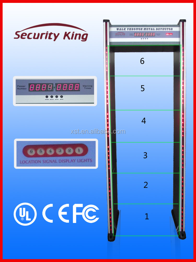 walk through metal detectr gate , airport archway metal detector for airport security