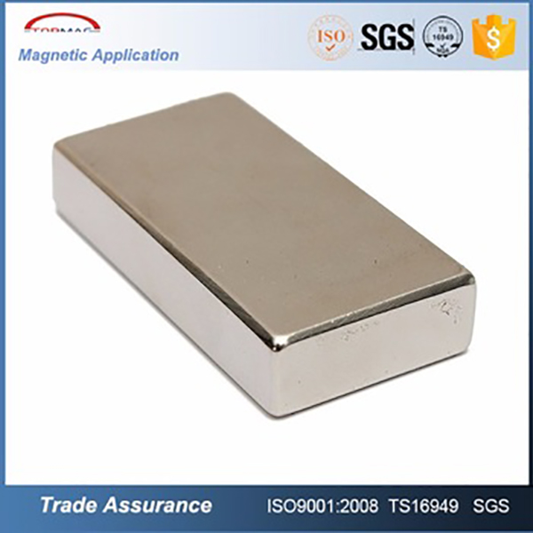 Strong Magnetic Powerful Strenth Permanent Large Bar Neodymium Magnet 50*30