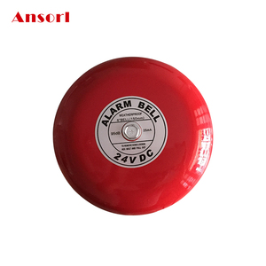 Weatherproof 6 inch 24V Fire Alarm Bell For Fire Alarm System