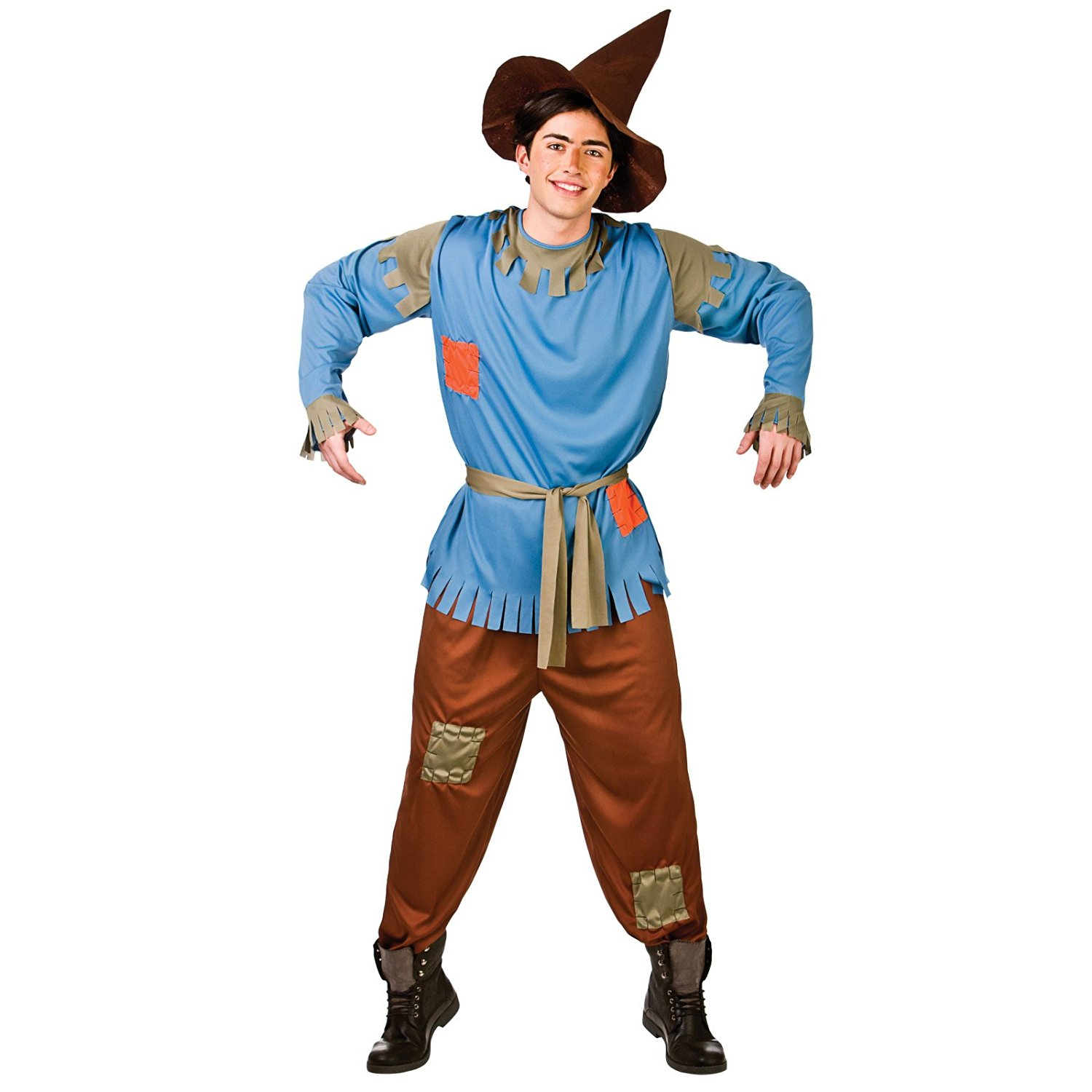 Scarecrow Fancy Dress Stag Costume