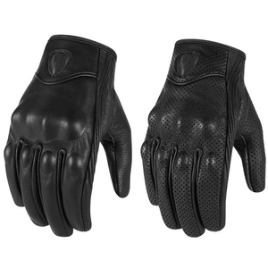 Leather Motorcycle Bike Race Gloves For Motorbike