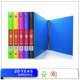 Wholesale cheap plastic 3 ring binder/plastic pp file folder