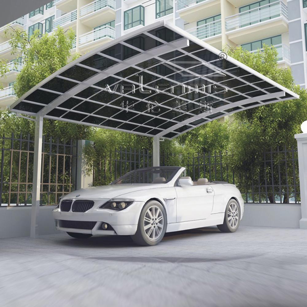 2017 alluminio auto capannone parcheggio riparo caport con for Piani garage separati con posto auto coperto