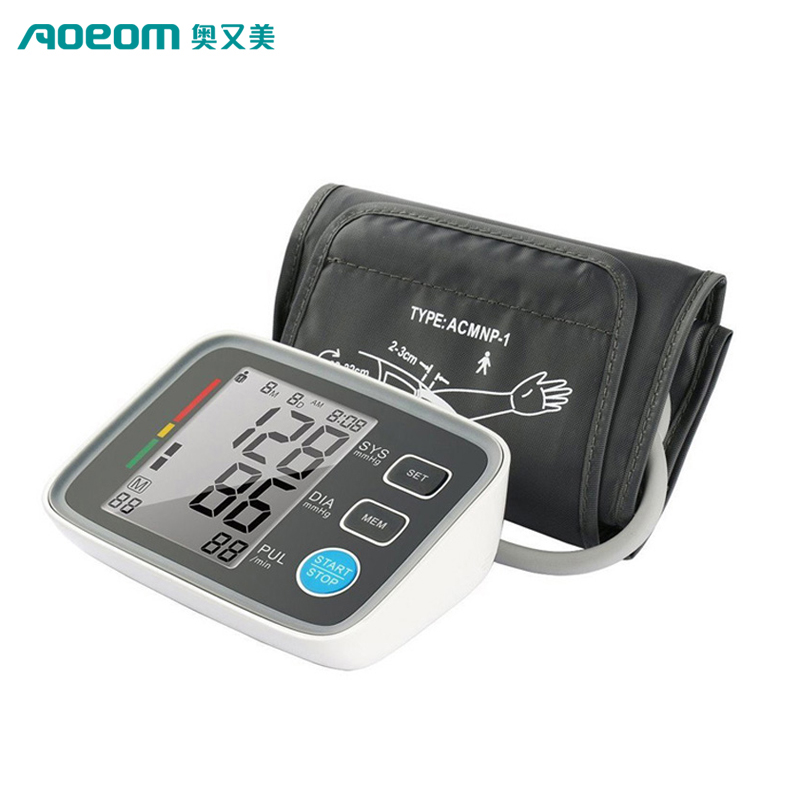 Manufactory Wholesale Digital Upper Arm Blood Pressure Monitor/Electronic Blood Pressure Monitor/BP monior