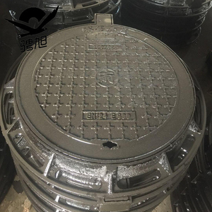 850*700 Circular drain covers access circular iron casting iron manhole cover and frame