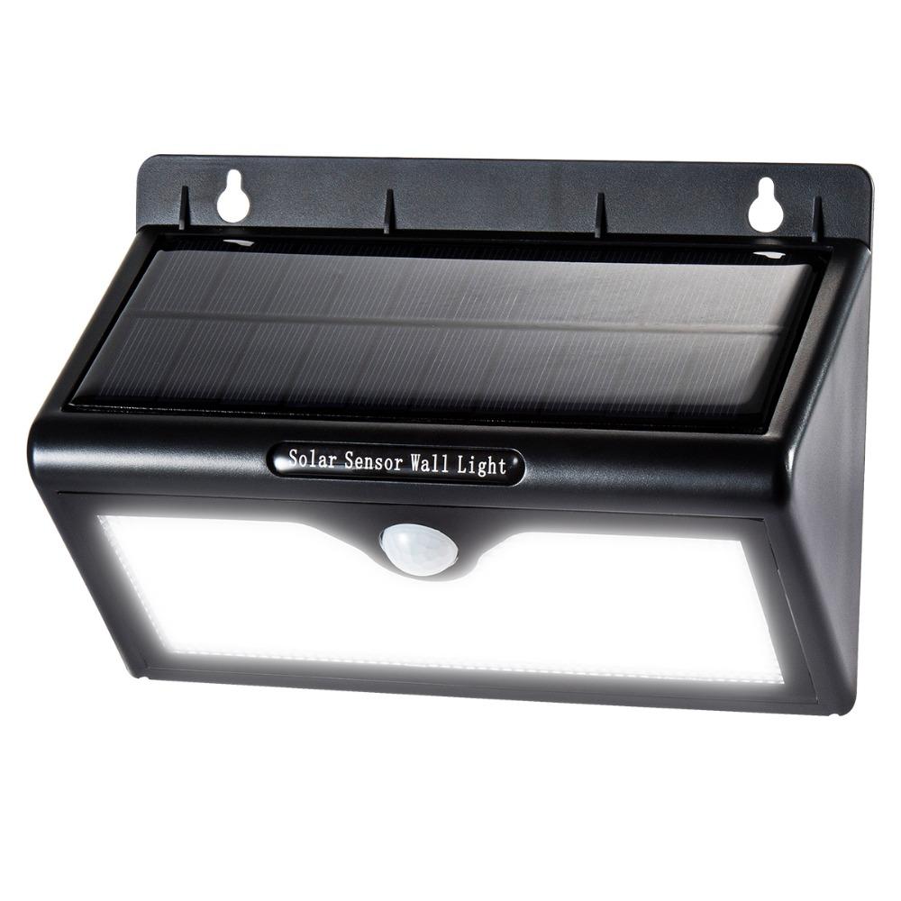 lampes solaires 46 led sans fil d tecteur de mouvement tanche lumi re ext rieure pour pour. Black Bedroom Furniture Sets. Home Design Ideas