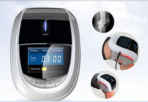 China suppliers knee care electronics massager with 3D vibration technology and laser therapy irradiation
