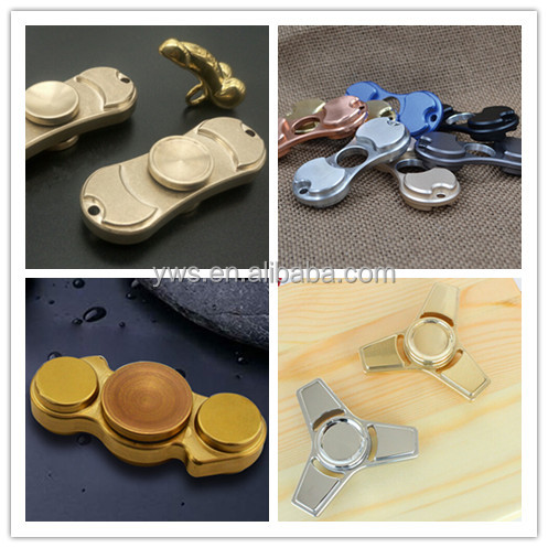 Good quality EDC metal hand spinner fidget with 608 ceramic bearing customized