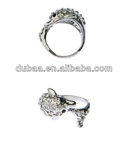 DB01386 Dolphin Rings for Young Lovers and Forever Love on Birthday Party Gifts,Christmas Vners Ring