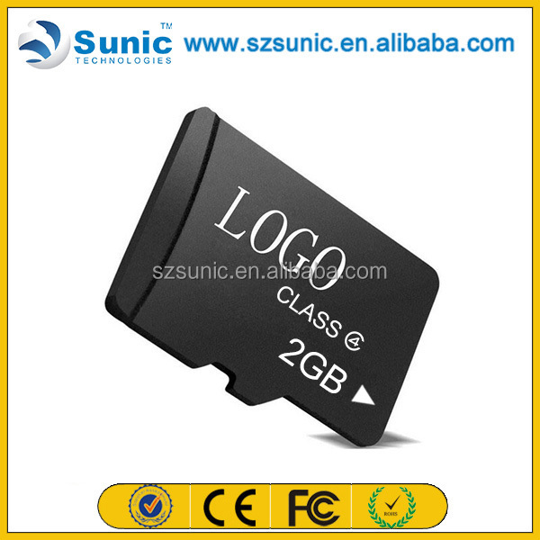 China Factory price wholesales 100% full capacity memory sd card