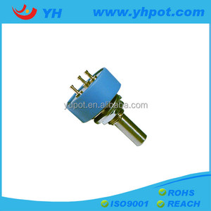 WDJ22 potentiometer 360 degree endless rotary potentiometer sensor