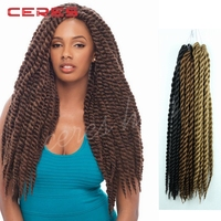 wholesale 12 inch to 24 inch Synthetic hair crochet braid hair extension
